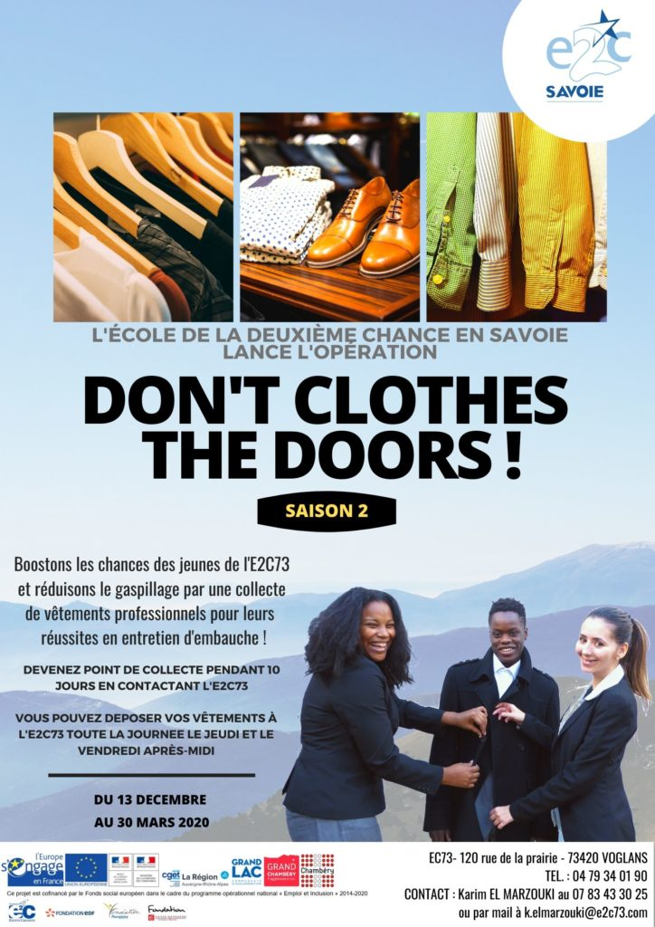 DON'T CLOTHES THE DOORS !
