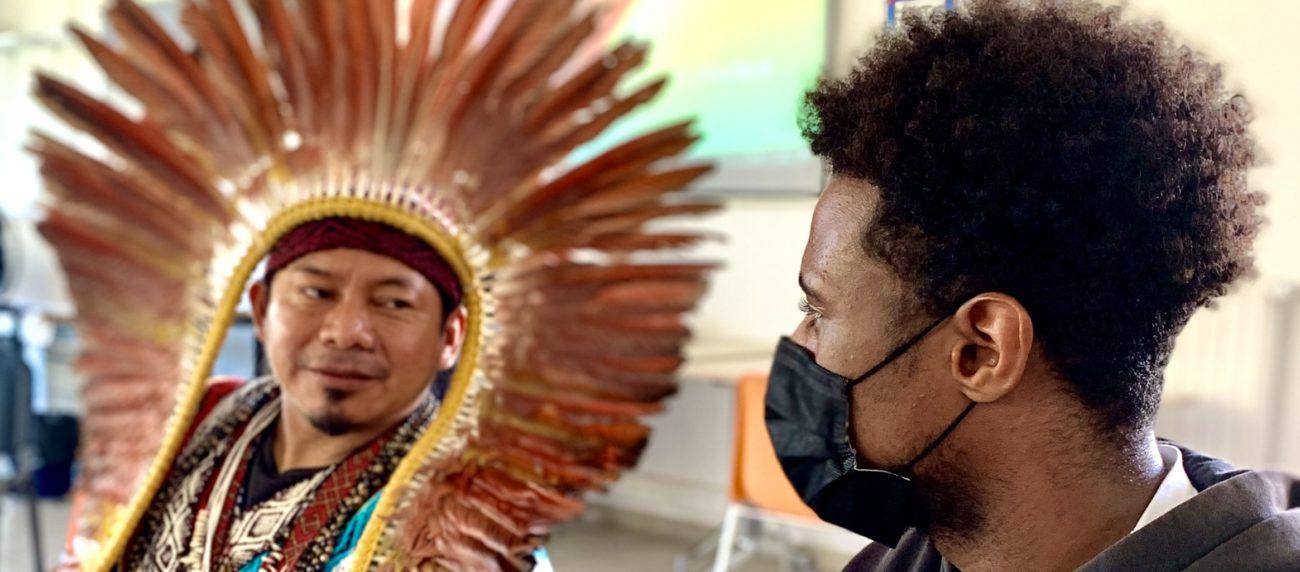 Un chef amazonien à l'E2C Savoie