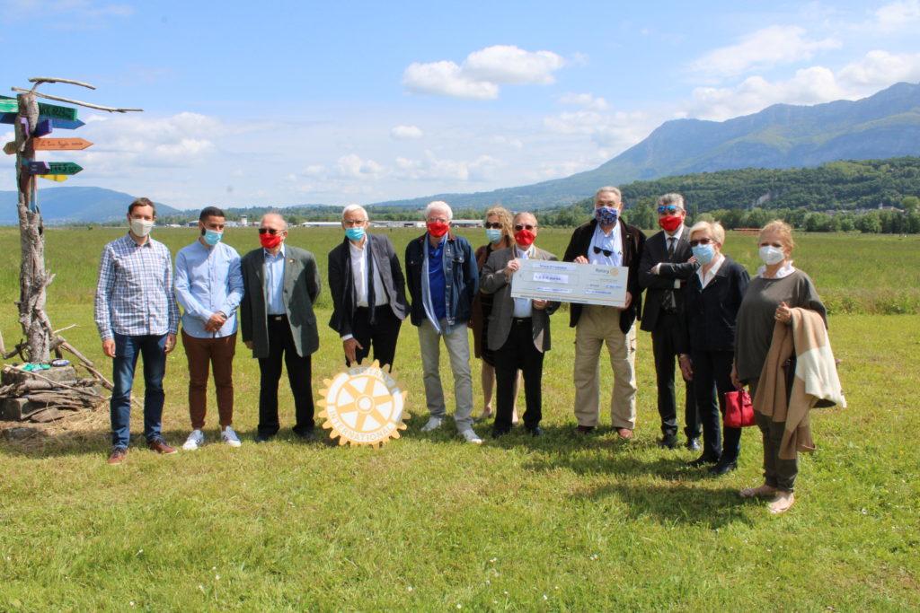 Une visite du Rotary-Club Annecy Rive Gauche !